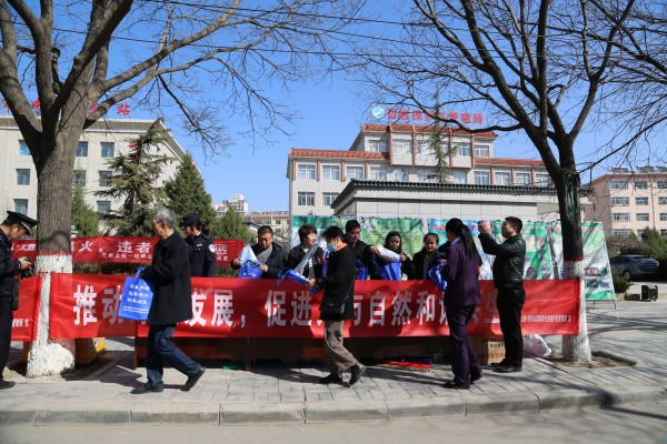 """太统-崆峒山保护局组织开展 """"世界野生动植物日""""宣传活动"""
