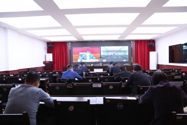 太统-崆峒山保护局认真贯彻落实省林草系统森林草原防火工作电视电话会议精神